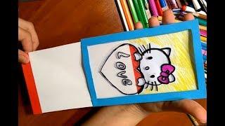 подарки своими руками Маме, Учителю в День Учителя,День Матери/8марта/открытка-подарок Video