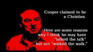 Bill Cooper Attacks Bible - Bill Cooper Debunked - Chapter 3: He Attacked Bible & Apostles