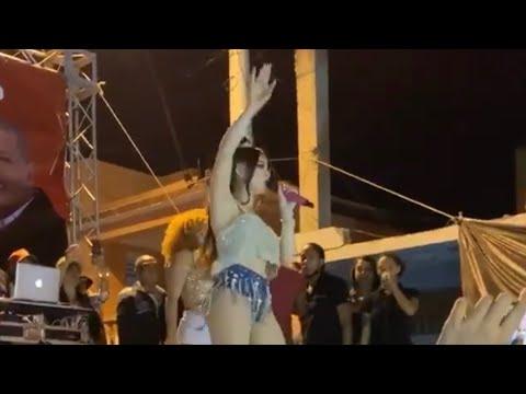 La Materialista se emociona al cantar  por primera vez en El Barrio que Nacio , La Yaguita de pastor