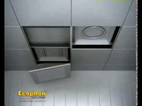 Ecophon Focus Ds Installation Video Youtube