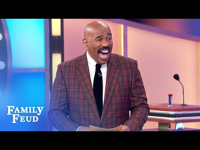 Cedric's answer was so good that Sheik used it too! | Family Feud