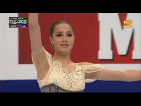 Alina ZAGITOVA RUS Short Program 2019 European Championships