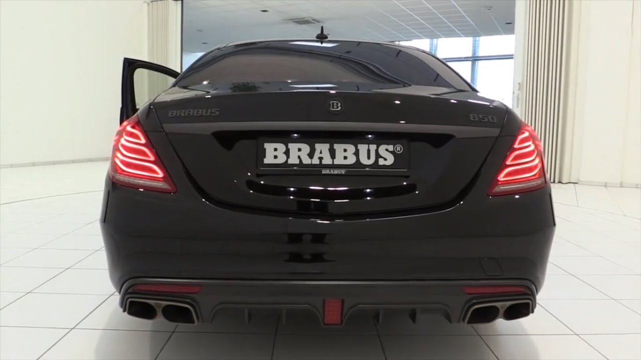 2016 Mercedes Benz Brabus And Amg Sound