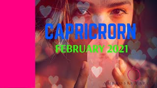 Capricorn (Embrace the new!)Monthly Tarot Reading  February 2021