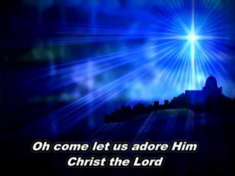 O Come All Ye Faithful-Casting Crowns with lyrics - YouTube