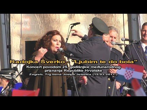 """Radojka Šverko - """"Ljubim te do bola"""" (Zagreb, TBJJ 15.01.2017.)"""