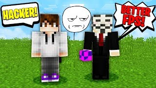 MINECRAFT HACKER GIVES WORST EXCUSE EVER FOR HACKING!