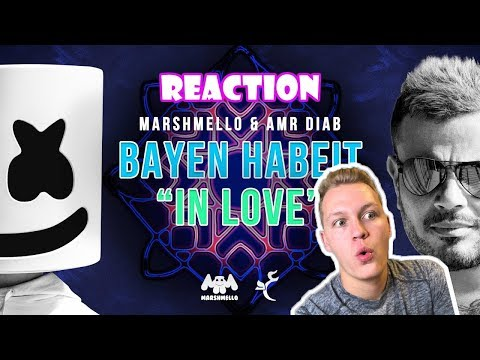 "Marshmello & Amr Diab - Bayen Habeit ""In Love"" (REACTION)"