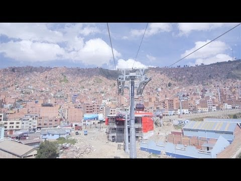 First look at La Paz's cable car to the skies