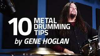 10 Metal Drumming Tips by Gene Hoglan (FULL DRUM LESSON)