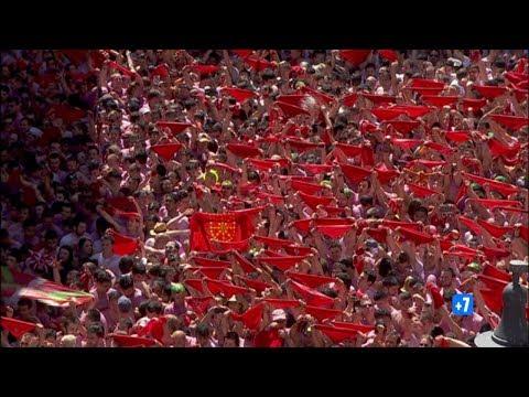 #Pamplona Se Viste De Fiesta En Honor A #Sanfermin | Chupinazo | #Sanfermines2017 En RTVE