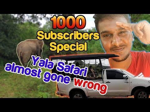 Yala Safari - ManiYa 1000 Subscribers Special - [Vlog 09]