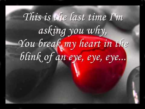 Taylor Swift - The Last Time (ft. Gary Lightbody) (Lyrics on Screen)