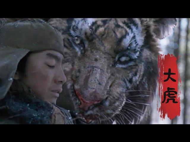 【牛叔】日本大军进山遭遇太极虎王,造成大规模伤亡事件。震撼好剧《大虎》