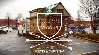 Vlog 3: Tiny House Tours, Zack Giffin + Race Cars // Road Trip To Georgia Tiny House Festival