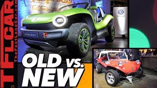 The Spirit of the Original Dune Buggy Lives On! Here is Everything about the New VW ID. BUGGY