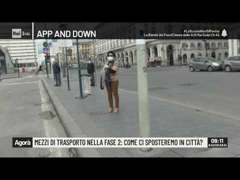 Mezzi di trasporto nella fase 2: come ci sposteremo in città? - Agorà 22/04/2020