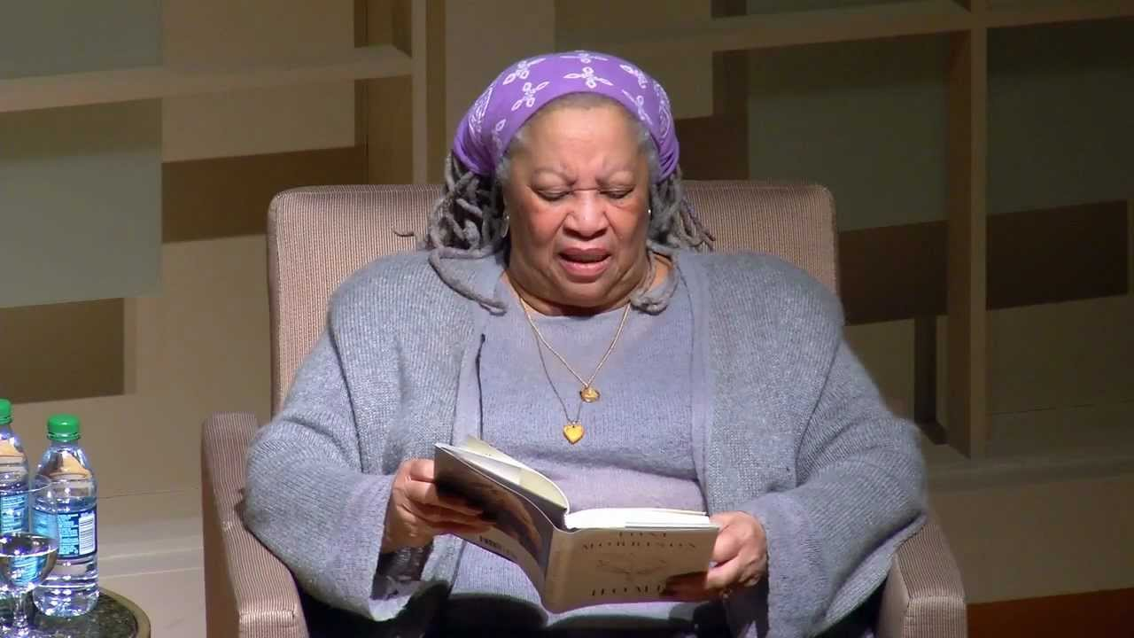 Image result for toni morrison reading