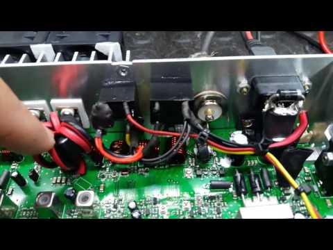 Original hannover br9000 100 watts ssb 70 am powerlitigrade audiomais mix rf turbomod kkk deixe👍👍
