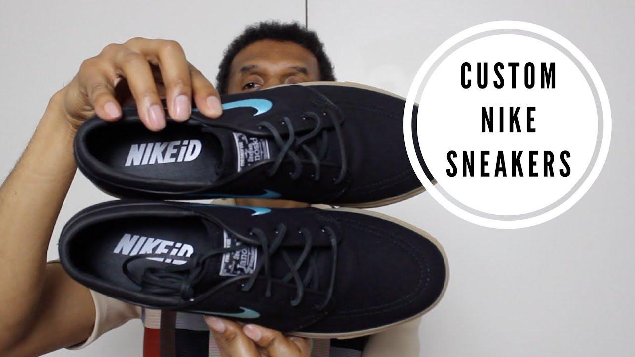 świetna jakość duża zniżka sprzedawca detaliczny Custom Nike SB Zoom Stefan Janoski Sneakers Unboxing
