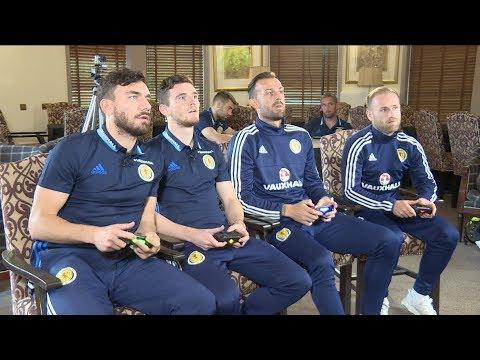 FIFA 18 - Barry Bannan & Steven Fletcher v Andy Robertson & Robert Snodgrass