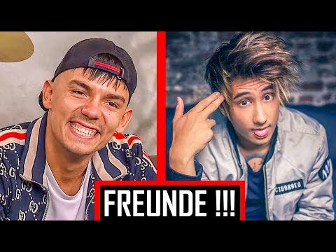 🔴 Diese Rapper und YouTuber sind FREUNDE! | Top 10 🔴 Gzuz, PrankBros, Julien Bam, Capital Bra