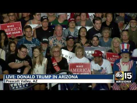FULL: Gov. Jan Brewer - Donald Trump in Prescott Valley, AZ