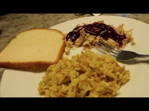CHAOS COOKING CROCKPOT CHICKEN AND RICE!!!