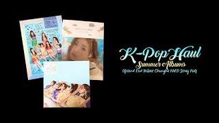 K-Pop Haul #6 | Summer Albums: Red Velvet, Chungha, KARD, GFRIEND, Stray Kids