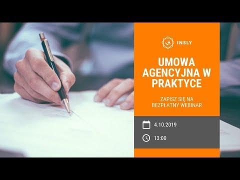 Akademia Insly: Umowa Agencyjna W Praktyce