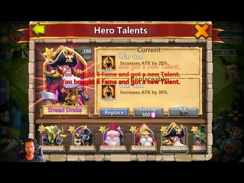 Rolling 26000 Gems For Talents Treasure Chests ICE Cream CONES Castle Clash