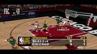 NBA Live 96 PS1 Gameplay HD