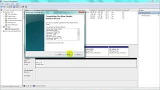 How to Format an external SATA HDD