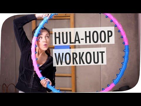 Für schöne Bauchmuskeln – das Hola Hoop-Workout mit Gewichten