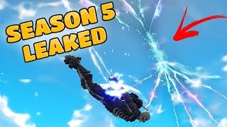 *NEW* SEASON 5 LEAKED INFORMATION & THEORIES (Fortnite Battle Royale)