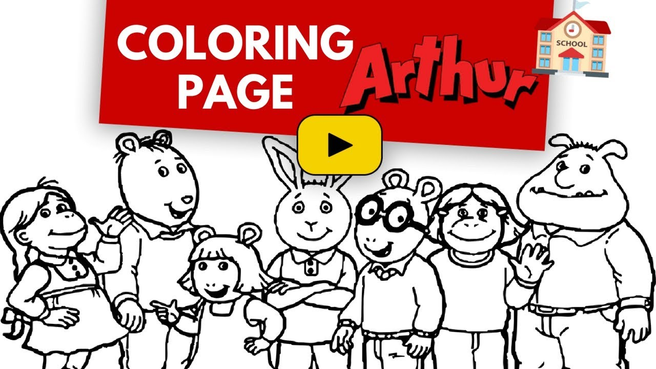 Attractive Coloring Pages Of Cartoon Animals Gift - Drawing Coloring ...
