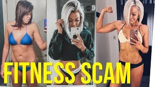 Fitness Influencer Accused of Scamming Her Followers