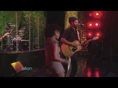 The Ellen Degeneres Show:  Michael Franti ft Cherine Anderson  Say Hey I Love You