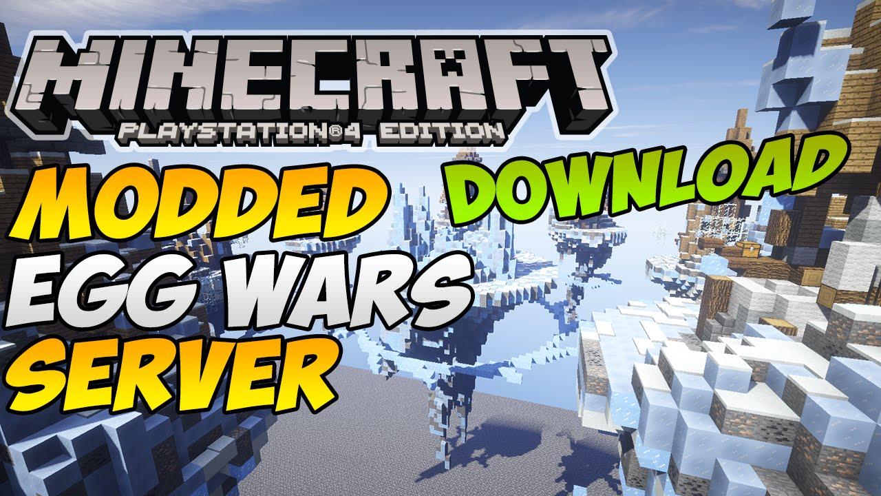 Minecraft PSXbox One Modded Egg WarsMoney Wars Server Modded - Minecraft server spielen ohne download