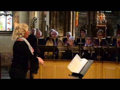 Choir at St. Giles' Cathedral, Edinburgh, Scotland