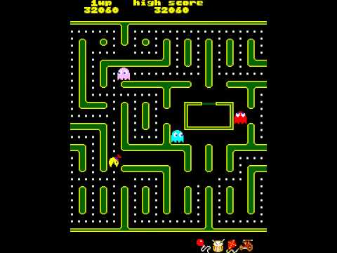 Arcade Game: Jr. Pac-man (1983 Midway)