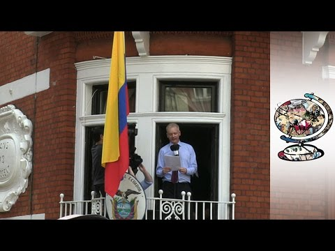 Julian Assange Is Still In The Ecuadorian Embassy (2012)