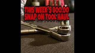 Milwaukee Wins Snap On Law Suit - This Weeks Snap On Tool Haul