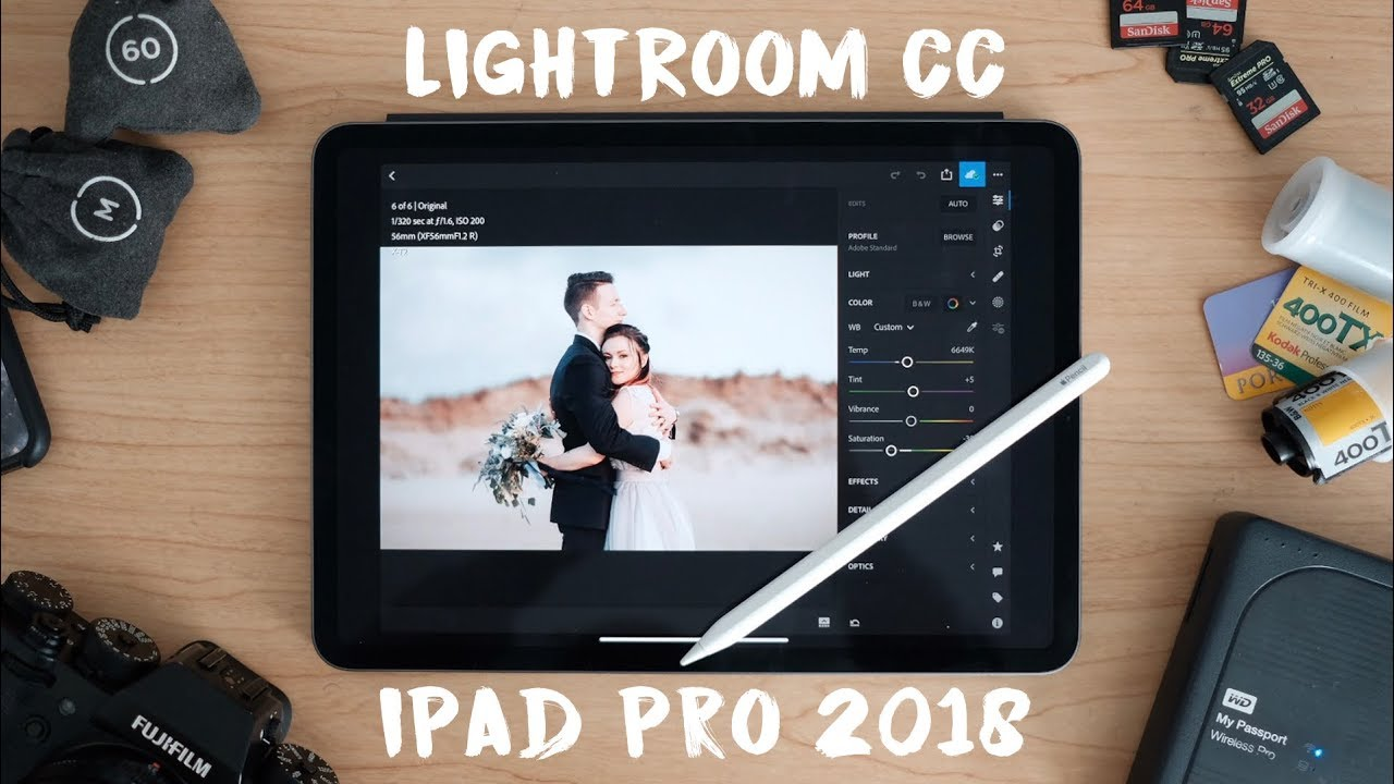 iPad Pro 2018 Editing in Lightroom CC