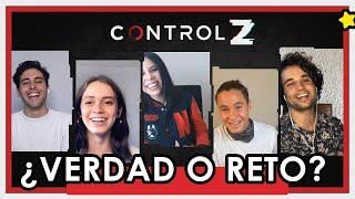 CONTROL Z - El elenco de Netflix confiesa todo. ?