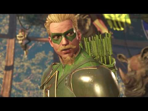 INJUSTICE 2 - GREEN ARROW DIALOGOS ESPAÑOL LATINO
