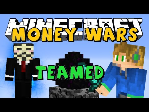 TEAMED WITH A HACKER?! | Minecraft MONEY WARS