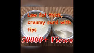 How to Set Thick u0026 Creamy curd at home | sweet Dahi curd at home दही। How to make thick curd recipe