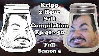 Kripp - 2 Hour Salt Compilation [Ep. 41-50] Season 5 - Hearthstone Funny Moments