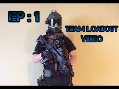 EP: 1 Paintball Loadout/Gear - Stretch